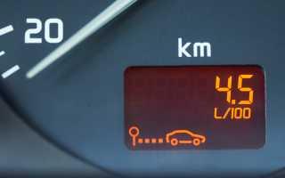 Расход бензина на 100 км по марке автомобиля
