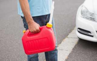 Можно ли хранить бензин в пластиковой таре