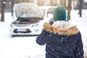 Автомобиль не завелся зимой