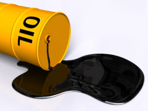 Бочка с нефтью