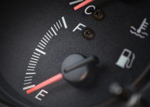 Уровень топлива автомобиля